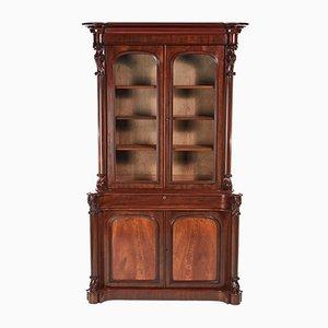Victorian Mahogany Bookcase, 1850s
