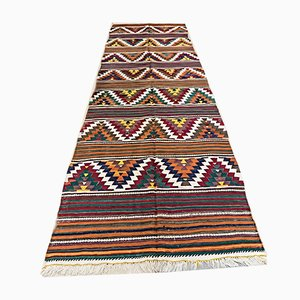 Vintage Turkish Wool Kilim Rug, 1930s