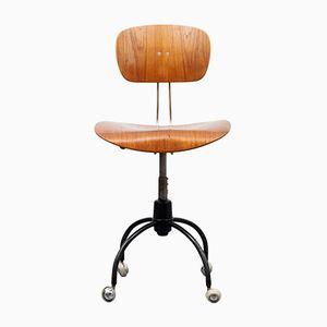 Drehbarer Modell SE40 Schreibtischstuhl von Egon Eiermann f