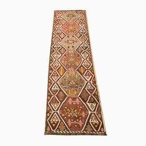 Vintage Turkish Wool Runner, 1960s