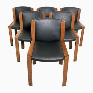 Vintage Model 300 Chairs by Joe Colombo for Pozzi, 1965, Set of 6