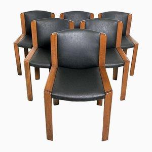 Vintage Modell 300 Stühle von Joe Colombo für Pozzi, 1965, 6er Set
