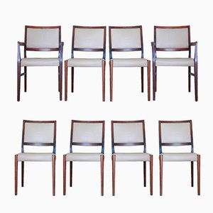 Rosewood Dining Chairs from Svegards, 1970s, Set of 8