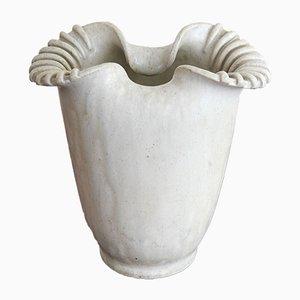 Vaso vintage in ceramica di Arne Bang, Danimarca, anni '30