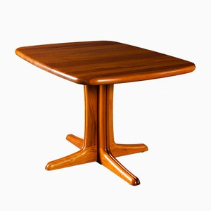 Extendable Solid Teak Dining Table, 1970s