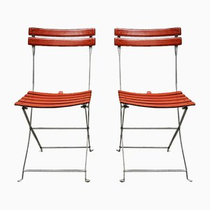 Vintage Leather Chairs by Marco Zanuso for Zanotta, 1970s, Set of 2