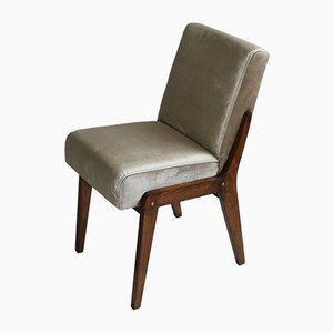 Beigefarbener Vintage Aga Chair von Józef Chierowski, 1970er
