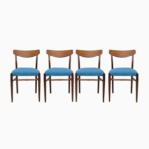 Mid-Century Dining Chairs from Lübke, Set of 4, 1960s