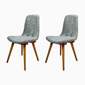 Polnische Vintage Stühle, 1970er, 2er Set
