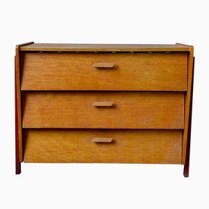 Vintage Modernist Shoe Cabinet