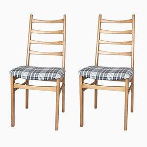 Graue Vintage Stühle, 1970er, 2er Set