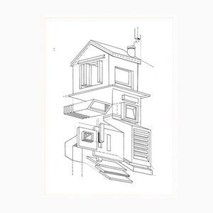 My House Above Poster von Atang Tshikare für Fiercepop