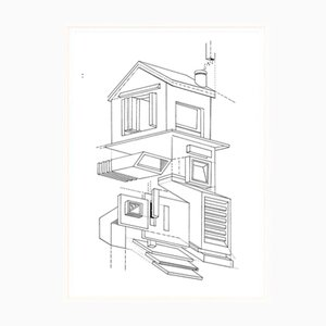 Poster My House Above di Atang Tshikare per Fiercepop