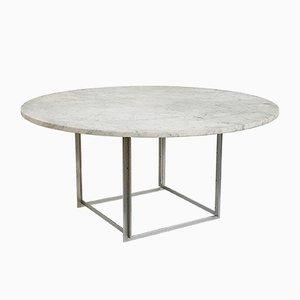 Niedriger PK 54 Tisch von Poul Kjaerholm für Christensen, 1963