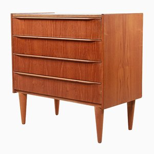 Vintage Danish Teak Chest of Drawers, 1960s
