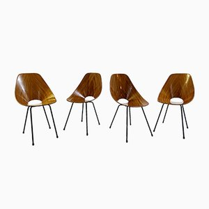 Medea Chairs by Vittorio Nobili for Fratelli Tagliabue, 1960s, Set of 4