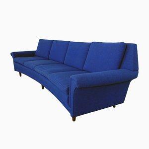 4-Sitzer Sofa mit Beinen aus Palisander von Georg Thams, 1960er
