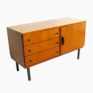 German Modernist Mahogany Commode, 1960s