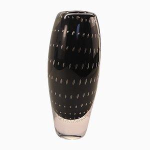 Vaso vintage di Vicke Lindstrand per Kosta, anni '50
