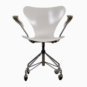 Model 3217 Office Chair by Arne Jacobsen for Fritz Hansen, 1970s