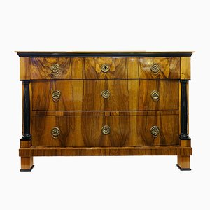 Commode Biedermeier Antique en Noyer