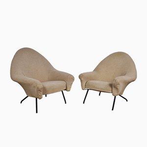 Modell 770 Sessel von Joseph-André Motte für Steiner, 1958, 2er Set