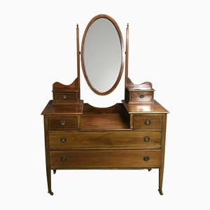 Vintage Mahogany Dressing Table