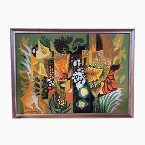 Arazzo Amazonie vintage J.C. Duprez per Jean Picart Le Doux, anni '70