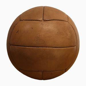 Ballon d'Exercice de Médecine Vintage en Cuir
