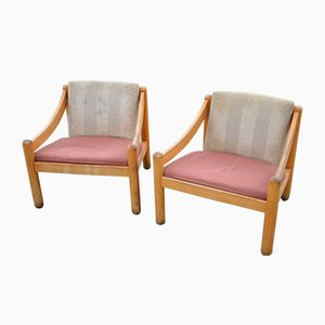 Armchairs by Vico Magistretti for Cassina, 1960s, Set of 2