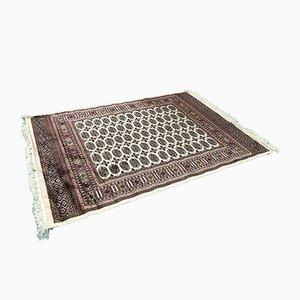 Mid-Century Teppich aus Wolle und Seide
