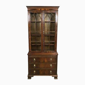 Mid-Century British Mahogany Bookcase