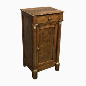 Antique Oak Bedside Table