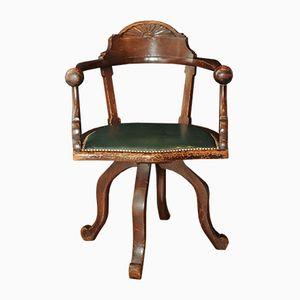 Viktorianischer Schreibtischdrehstuhl