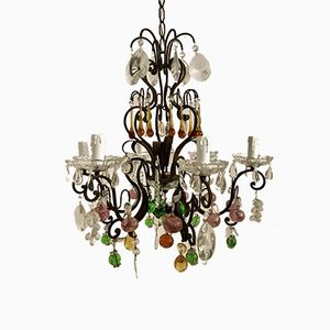 Vintage Murano Fruit Chandelier