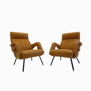 Mid-Century Italian Armchairs, 1960s, Set of 2