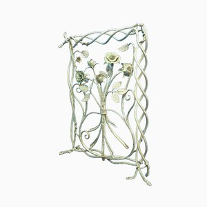 Mid-Century Handmade Metal Wall Hanger