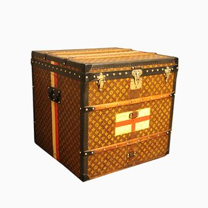 Cube Steamer Trunk from Louis Vuitton, 1930s