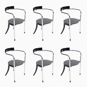 Fauno Chairs by David Palterer for Zanotta, 1987, Set of 6