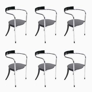 Fauno Stühle von David Palterer für Zanotta, 1987, 6er Set