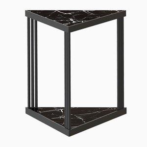 Tavolino da caffè TRECENTO con marmo nero di Alex Baser per MIIST