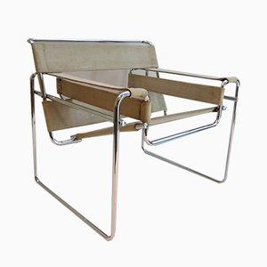 Chaise B3 Wassily Vintage par Marcel Breuer pour Gavina