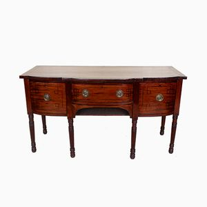 Large Antique Victorian Mahogany Sideboard