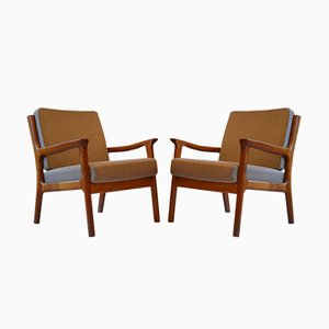 Easy Chairs by Juul Kristensen for Glostrup, 1960s, Set of 2