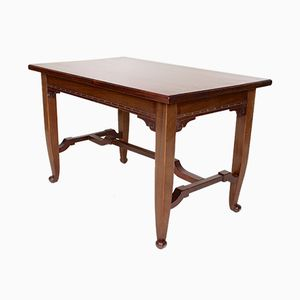 Antique Biedermeier Mahogany Desk or Console Table