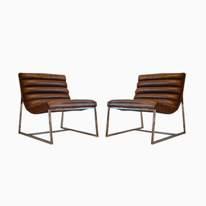 Italienischer Vintage Sessel, 1980er, 2er Set