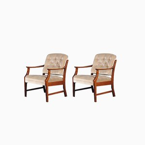 Mid-Century Danish Easy Chairs, 1960s, Set of 2