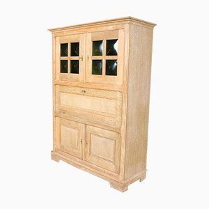 Vintage Danish Oak Secretaire