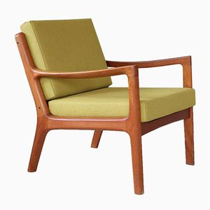 Vintage Teak Senator Easy Chair by Ole Wanscher for France & Søn