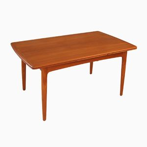 Teak Dining Table by Svend Aage Madsen for K. Knudsen & Son, 1960s